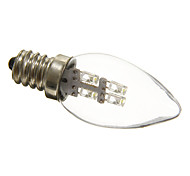 abordables -0,5 W 15-20 lm E12 Luces LED en Vela C35 3 leds Decorativa Blanco Natural AC 220-240V