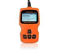 abordables -autophix® herramienta de diagnóstico obd2 obd eobd del obdii lector de código de escáner om123