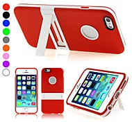 ENKAY Protective TPU Cover with Stand for iPhone 6 Plus (Assorted Colors)