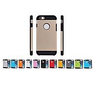 Für iPhone 6 Hülle / iPhone 6 Plus Hülle Stoßresistent Hülle Rückseitenabdeckung Hülle Panzer Weich TPUiPhone 6s Plus/6 Plus / iPhone