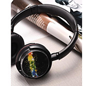 cheap -MRH-8803 On Ear Headband Wired Headphones Dynamic Plastic Mobile Phone Earphone with Volume Control with Microphone Noise-isolating