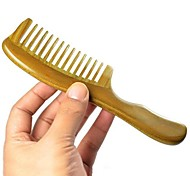 Natual 18X5cm Brazil Green Sandalwood Wooden Comb Health Comb