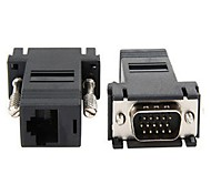 High Speed VGA Male to RJ45 Adapter