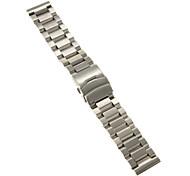 Men's Women's Watch Bands Stainless Steel #(0.1) #(24 x 2.4 x 0.3) Watch Accessories