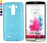 Новый прибыл блеск порошок шт покрытием жесткий чехол для LG G3 D850 ls990 (ассорти цветов)
