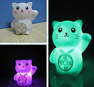 Coway Creative Romantic Gift Maneki Neko Colorful LED Nightlight