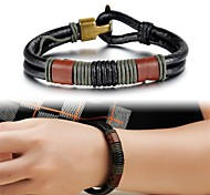 Creative Fashion Leather Men's Bracelet Jewelry Christmas Gifts