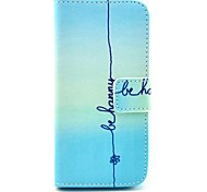 COCO FUN® Cute Smile Pattern PU Leather Full Body Case with Screen Protector for iPhone 5C