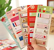 Long Name 120 Pages Sticker(1 PCS Random Color) Art & Craft Kits