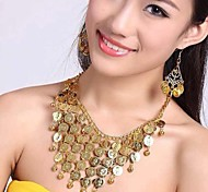 women's Europe Fashion Multi-layer Belly Dance Jewelry Set(Including Necklaces&Earrings)