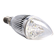 E14 LED Candle Lights 4 leds High Power LED 360lm Natural White 5500-6000K Dimmable AC 220-240