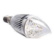 E14 LED лампы в форме свечи 4 светодиоды Высокомощный LED 360lm Естественный белый 5500-6000K Диммируемая AC 220-240