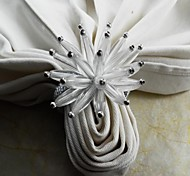cheap -Glass Mini Napkin Ring Patterned Eco-friendly Table Decorations