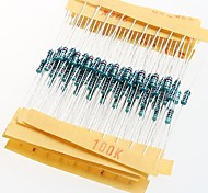 Resistencias de película metálica de resistencia 1 / 4w 1% 10r - 1m (30 x 10 piezas)