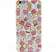 Fashionable Popcorn Pattern Silicone Soft Cover for iPhone 6 Plus