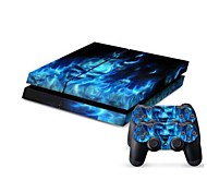 cheap -B-Skin® PS4 Console Protective Sticker Cover Skin Controller Skin Sticker