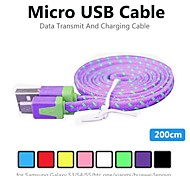 cheap -Micro USB 2.0 USB Cable Adapter Normal Cable For PVC