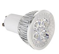 GU10 LED Spotlight 4 leds High Power LED Dimmable Natural White 360lm 5500-6000K AC 220-240V