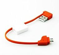Недорогие -тип ключевой цепи кабеля портативные микро данных USB для Samsung и других телефонов (ассорти цветов)