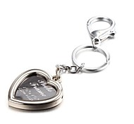 cheap -Heart Shape Selfie Photo Album Zinc Alloy Keychain(First 10 Customers With Box Added)