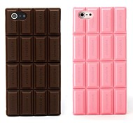 cheap -Silicone Chocolate Skin Case Cover Compatible With iPhone 5/5S  (Assorted Color)
