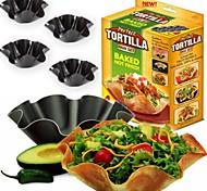 новые 4шт / много идеальный салат тортилья выпечка плесень чаша выпечки лоток