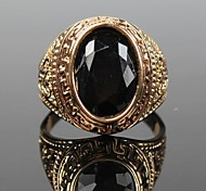 cheap -Men's Statement Ring Gold/Black Alloy Fashion Christmas Gifts Party Daily Casual Costume Jewelry