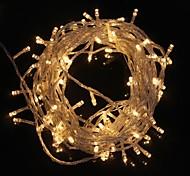 Недорогие -z®zdm 10m 9.6w flash 100-светодиодный теплый белый / холодный белый свет ламповый индикатор (eu plug, ac 220v)