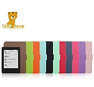 застенчивый медведь ™ 6 дюймов тонкий стиль кожаный чехол чехол для Amazon Kindle нового 2014 (разжечь 7) Устройства