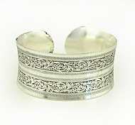 1PCS Fashion Carved Silver Bracelet N0.3 Jewelry Christmas Gifts