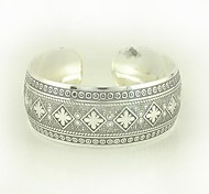 1PCS Fashion Carved Silver Bracelet N0.6 Christmas Gifts