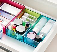 Недорогие -Коробки для хранения Пластик сОсобенность является С крышкой / Открытые , Для Бижутерия / Бельё