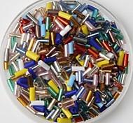 Недорогие -350pcs многоцветная стеклянная трубка пони бисер 2 мм ручной DIY Craft аксессуары Материал / одежды