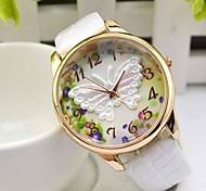 Недорогие -Женские Модные часы Наручные часы Кварцевый сплав Группа Бабочка Черный Белый Синий Красный Зеленый Фиолетовый марка