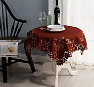 Недорогие -Рождество скатерти классическая вышивка скатерти 85 * 85см