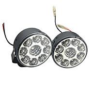 cheap -Car Light Bulbs 4W W SMD LED lm 9 Daytime Running Light
