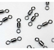 100 pcs Swivel Fishing Snaps & Swivels Silver g/Ounce mm inch,Stainless Steel Stainless Steel / Iron General Fishing