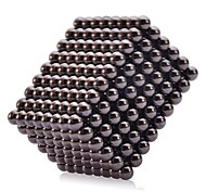 Magnet Toys 216Pcs 5mm Magnet Toys Executive Toys Puzzle Cube DIY Toys Magnetic Balls Black Education Toys For Gift