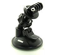 Suction Cup Mount / Holder For Action Camera Gopro 5 Gopro 4 Gopro 3+ Gopro 2 Auto Snowmobiling Motorcycle Bike/Cycling