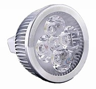 5W GU5.3(MR16) Spot LED MR16 4 diodes électroluminescentes LED Haute Puissance 500lm Blanc Chaud Blanc Froid Warm: 2800-3200K ; Cool: