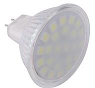 Недорогие -ywxlight® gu5.3 (mr16) привело прожектор mr16 24 светодиода smd 5050 холодный белый 360lm 6000-6500k переменного тока 220-240v