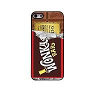Chocolate Design Aluminum Hard Case for iPhone 5/5S iPhone Cases