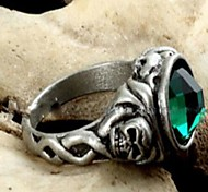 Pirates of the Caribbean Captain Jack Skull Movie Statement Rings(1 Pc)