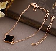 Korea Style Flower Alloy Charm Bracelet(1pc) Christmas Gifts