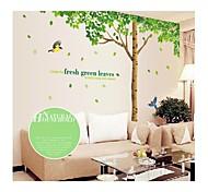 ботанический / Рождество / Мультипликация / Цветы / Пейзаж Наклейки Простые наклейки Декоративные наклейки на стены,# материал Съемная