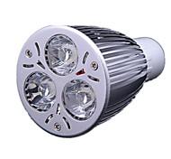 3.5 GU10 LED Spot Lampen MR16 3 Leds Hochleistungs - LED Kühles Weiß 300-350lm 6000-6500K AC 220-240V