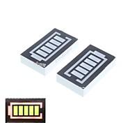 5 Segment Red and Green Digital Display Battery (2PCS)