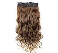 Недорогие -Наращивание волос Классика Клип во/на Волнистые Повседневные Высокое качество