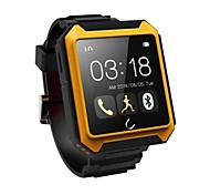Недорогие -U смотреть U Terra носимых SmartWatch, средства массовой информации / громкой / компас / IP68 Водонепроницаемый / шагомер для Android / IOS