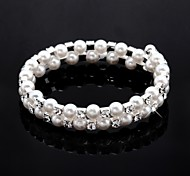Ladies'/Child's Fashion With Crystal/Imitation Pearl/Cubic Zirconia Bracelet